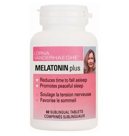 Lorna Vanderhaegue Lorna Melatonin Plus 3mg 60 sublingual tablets