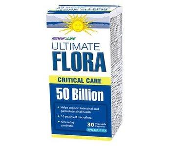 Ultimate Flora Critical Care 50 Billion 30caps