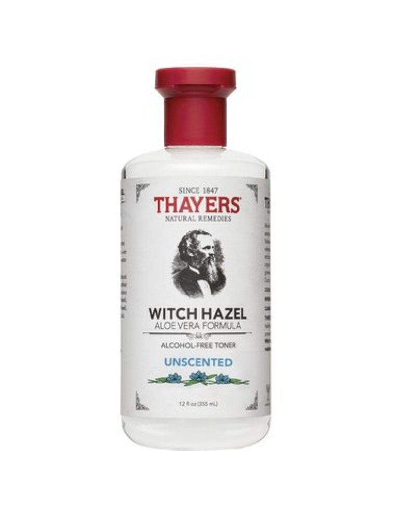 Thayers witch hazel a/f unscented with aloe 355 ml