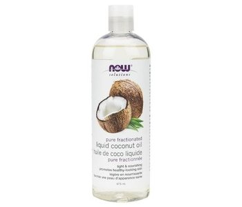 NOW Pure Fractionated Liquid Coconut Oil 473ml