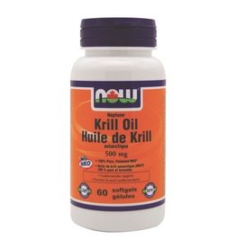 NOW NOW Neptune Krill Oil 500mg 60 softgels