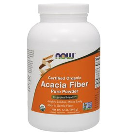 NOW NOW Organic Acacia Fibre 340g powder