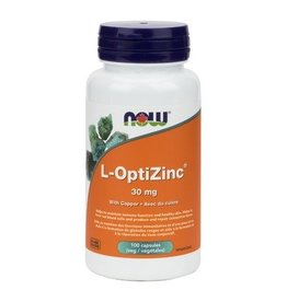 NOW NOW L-Optizinc 30mg 100caps