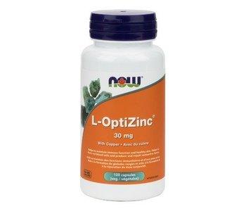 NOW L-Opti zinc 30mg 100caps