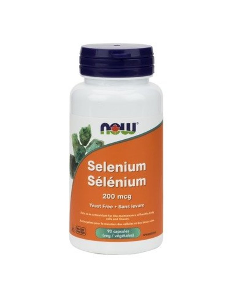 NOW NOW Selenium 200 mcg 90 caps