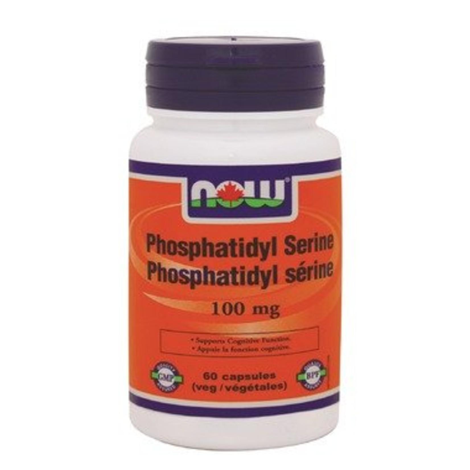 NOW NOW Phosphotidyl Serine 100mg 60 caps