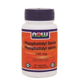 NOW NOW Phosphotidyl Serine 100mg 60 caps