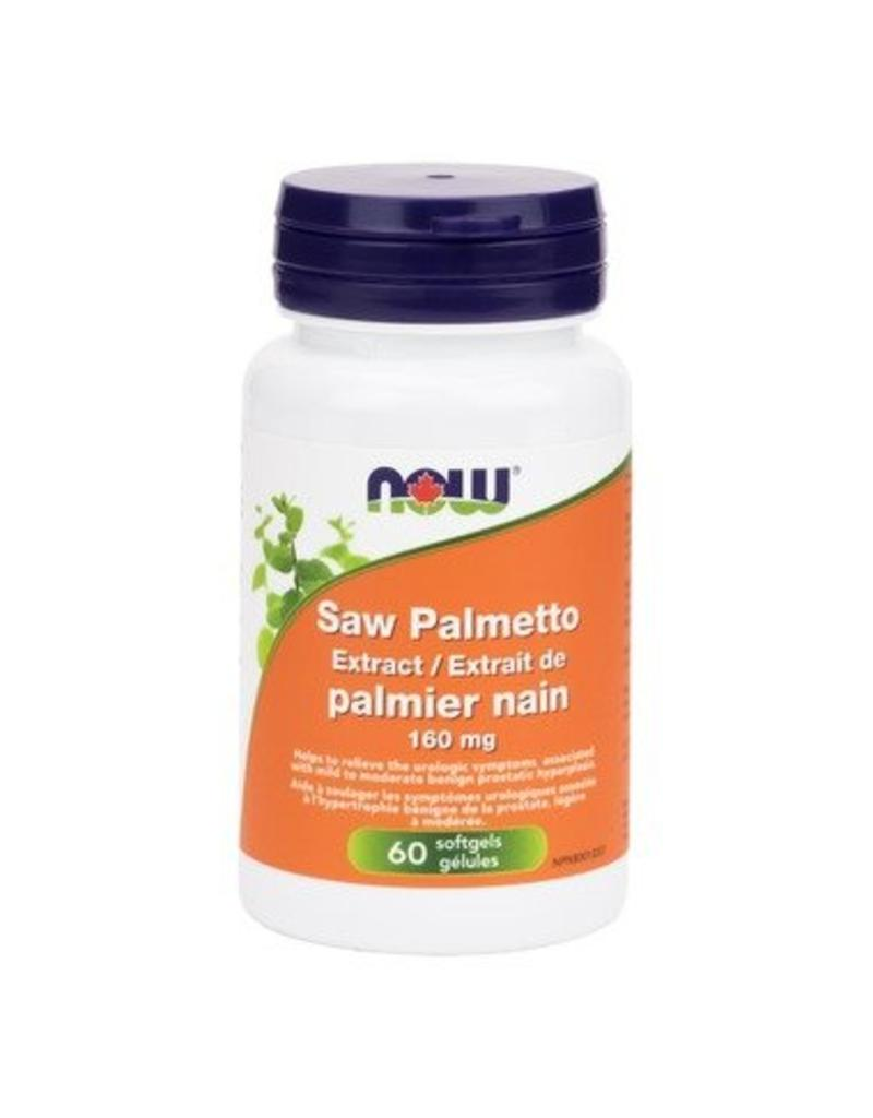NOW NOW Saw Palmetto 160mg 60 softgels