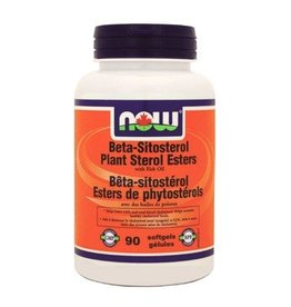 NOW NOW Beta-Sitosterol Plant Sterol Esters with Fish Oil 90 softgels