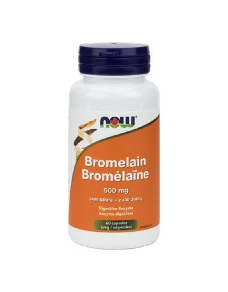 NOW NOW Bromelain 500mg 60caps