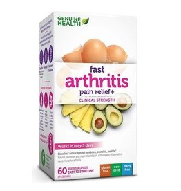 Genuine Health Fast Arthritis Pain Relief 60 caps