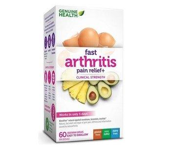 Genuine Health Fast Arthritis Pain Relief 60 caps