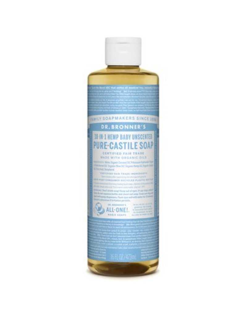 Dr. Bronners Dr Bronners Pure Castille Soap Unscented 237ml