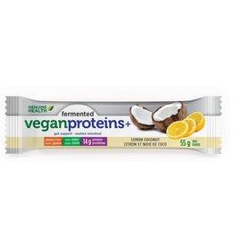 Genuine Health Genuine Health Fermented Vegan Protein Lemon Coconut 12 bars