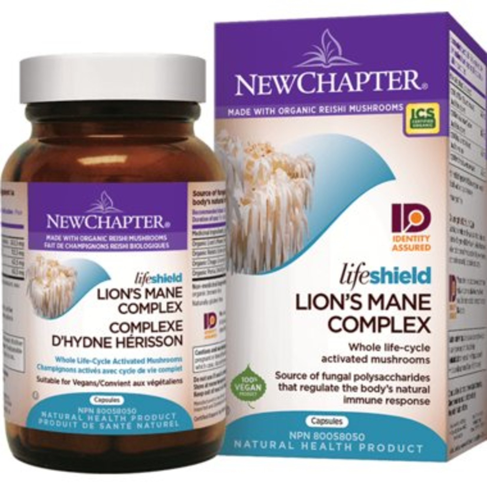 New Chapter Lion's Mane Complex