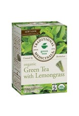 Traditional Medicinals Organic Green Tea Lemongrass 20 tea bags