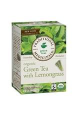 Traditional Medicinals Organic Green Tea Lemongrass 20 tea bags