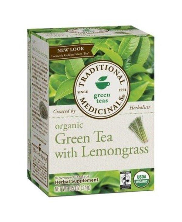 Organic Green Tea Lemongrass 20 tea bags