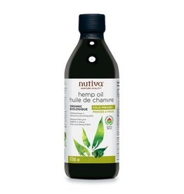 Nutiva Hemp Oil Organic Cold Pressed 473ml