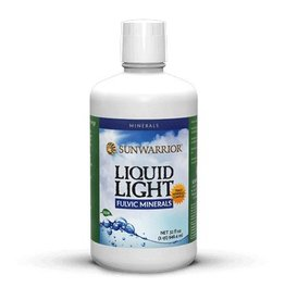 Sun Warrior Liquid Light Fulvic Minerals 946ml