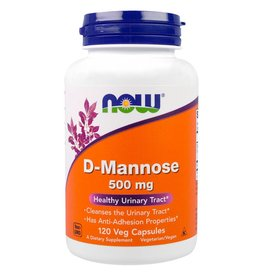 NOW NOW D-Mannose 500mg 120 caps