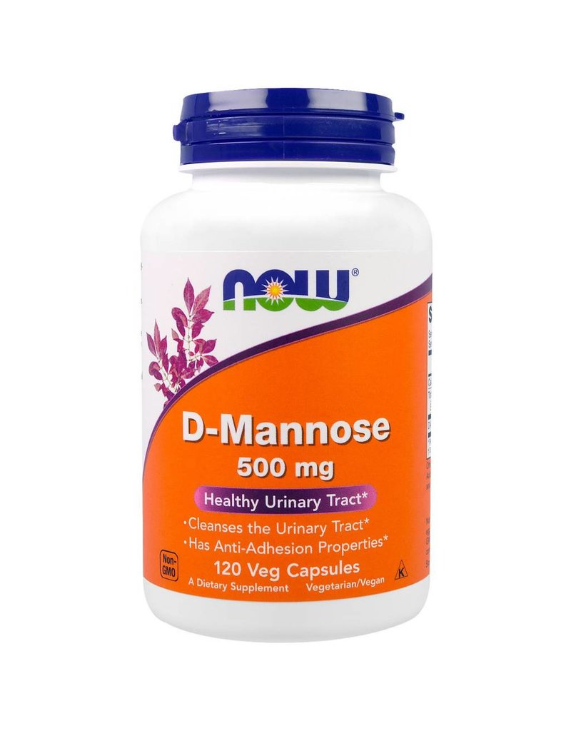 NOW D-Mannose 500mg 120 caps
