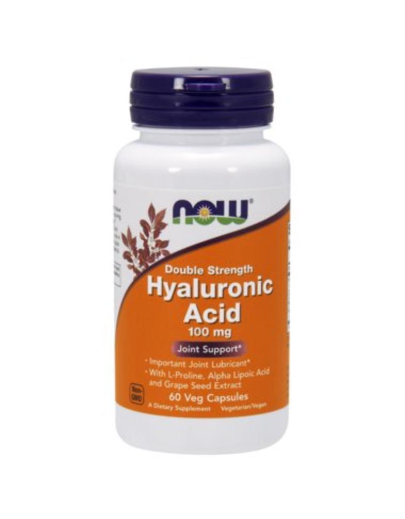 NOW Hyaluronic Acid 100mg 60caps
