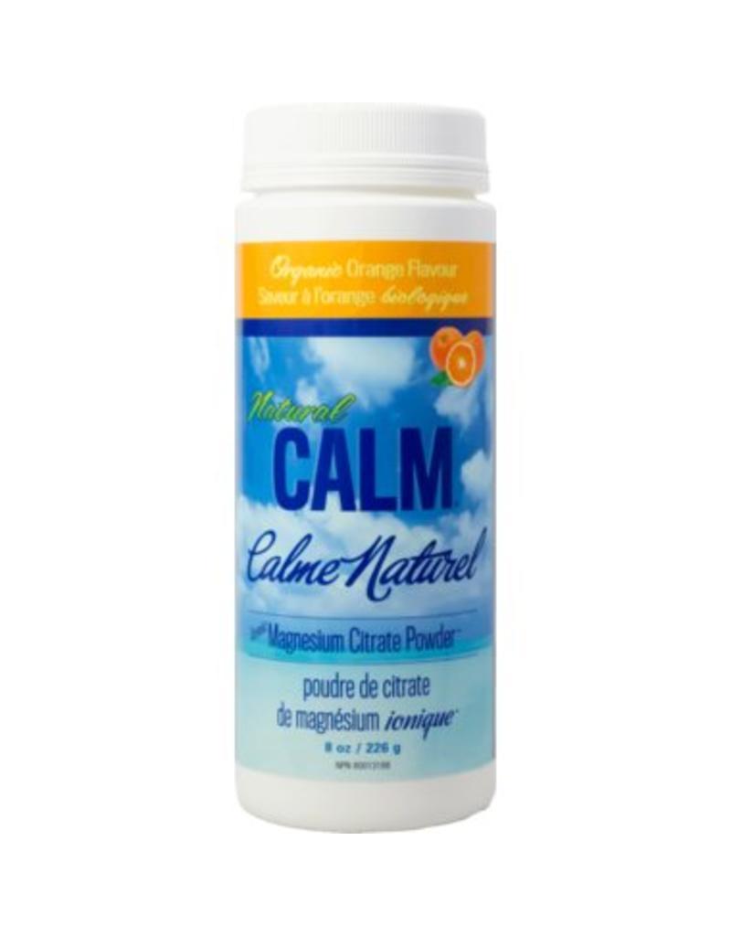 Natural Calm Magnesium Citrate Powder 8oz Orange