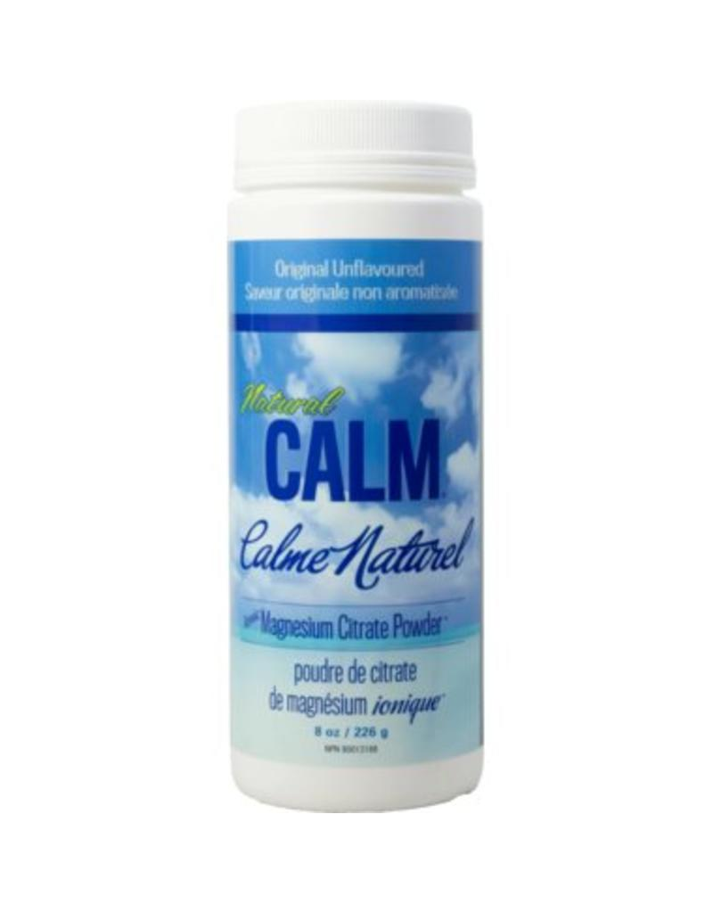 Natural Calm Magnesium Citrate Powder 8oz Unflavoured