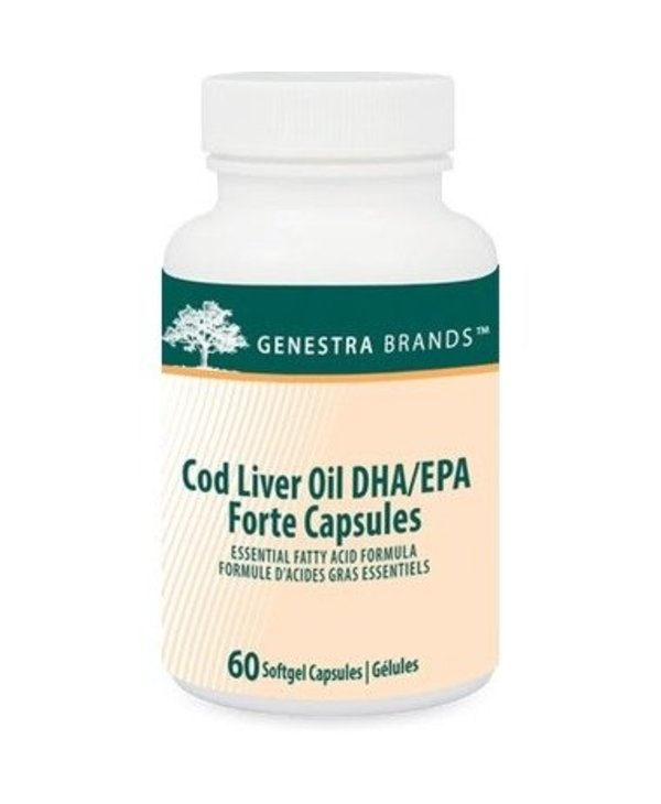 Genestra Cod Liver Oil DHA/EPA Forte 60 softgels