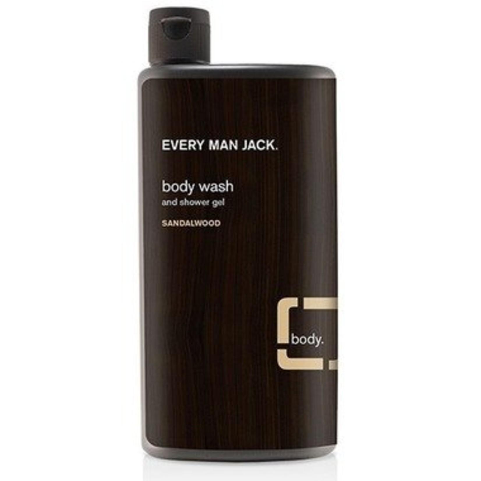 Every Man Jack Body Wash Sandalwood 500ml