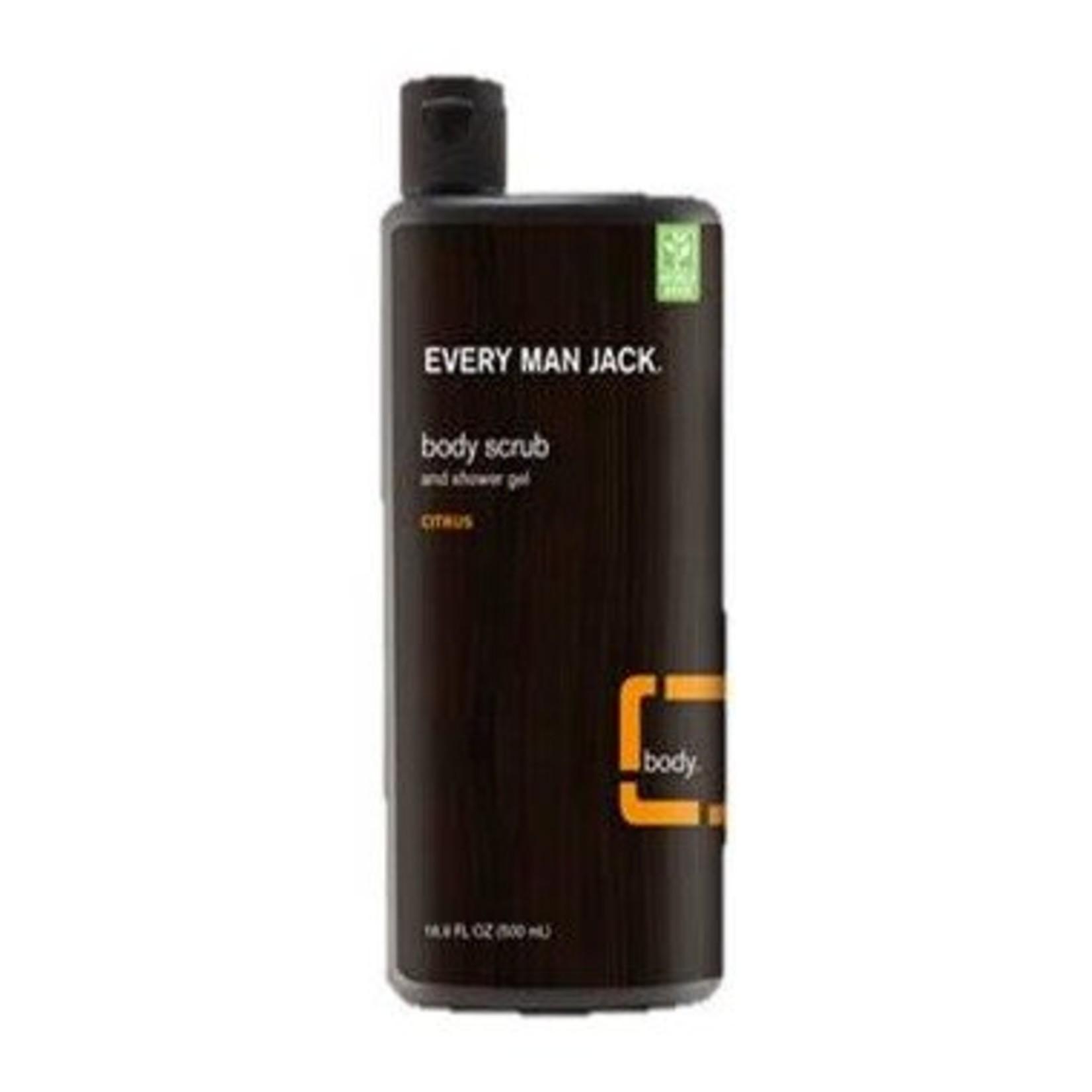 Every Man Jack Body Srub Citrus 400ml