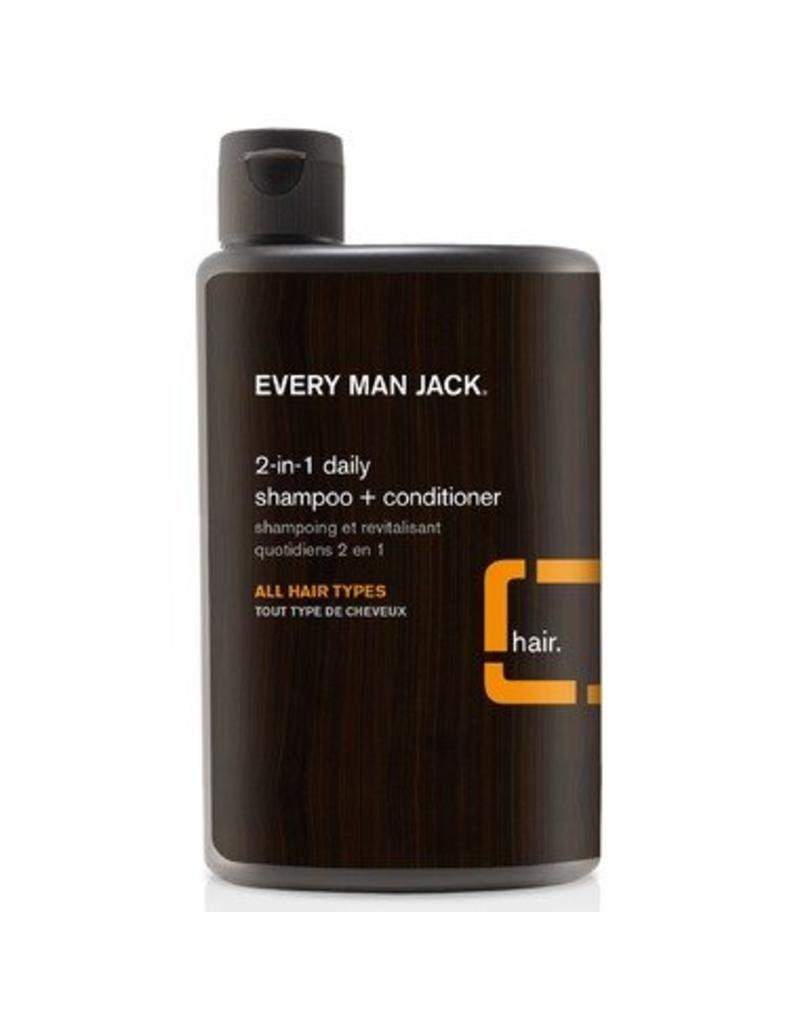 Every Man Jack 2-In-1 Daily Shampoo + Conditioner