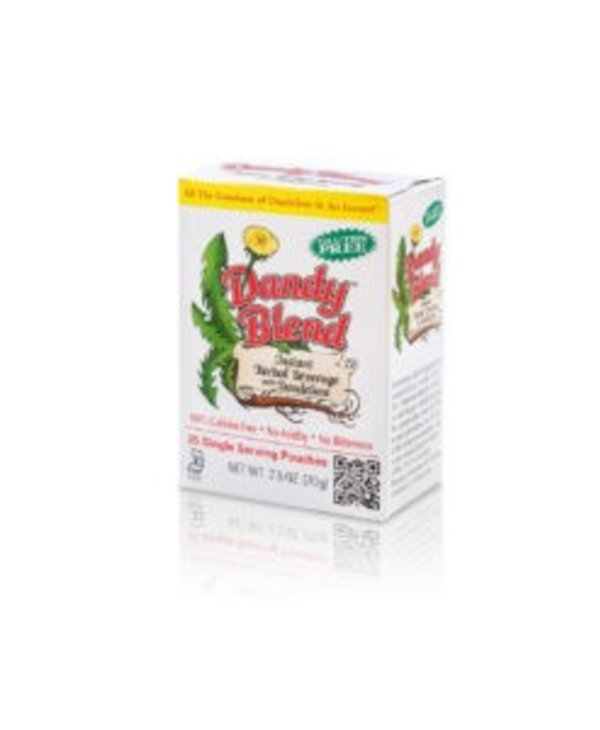 Instant Dandelion Beverage Herbal Coffee 25 pouches