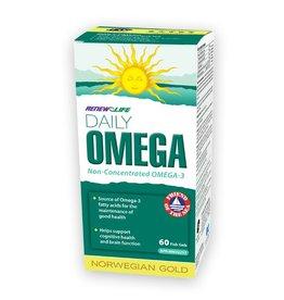 Renew Life Daily Omega 60 softgels