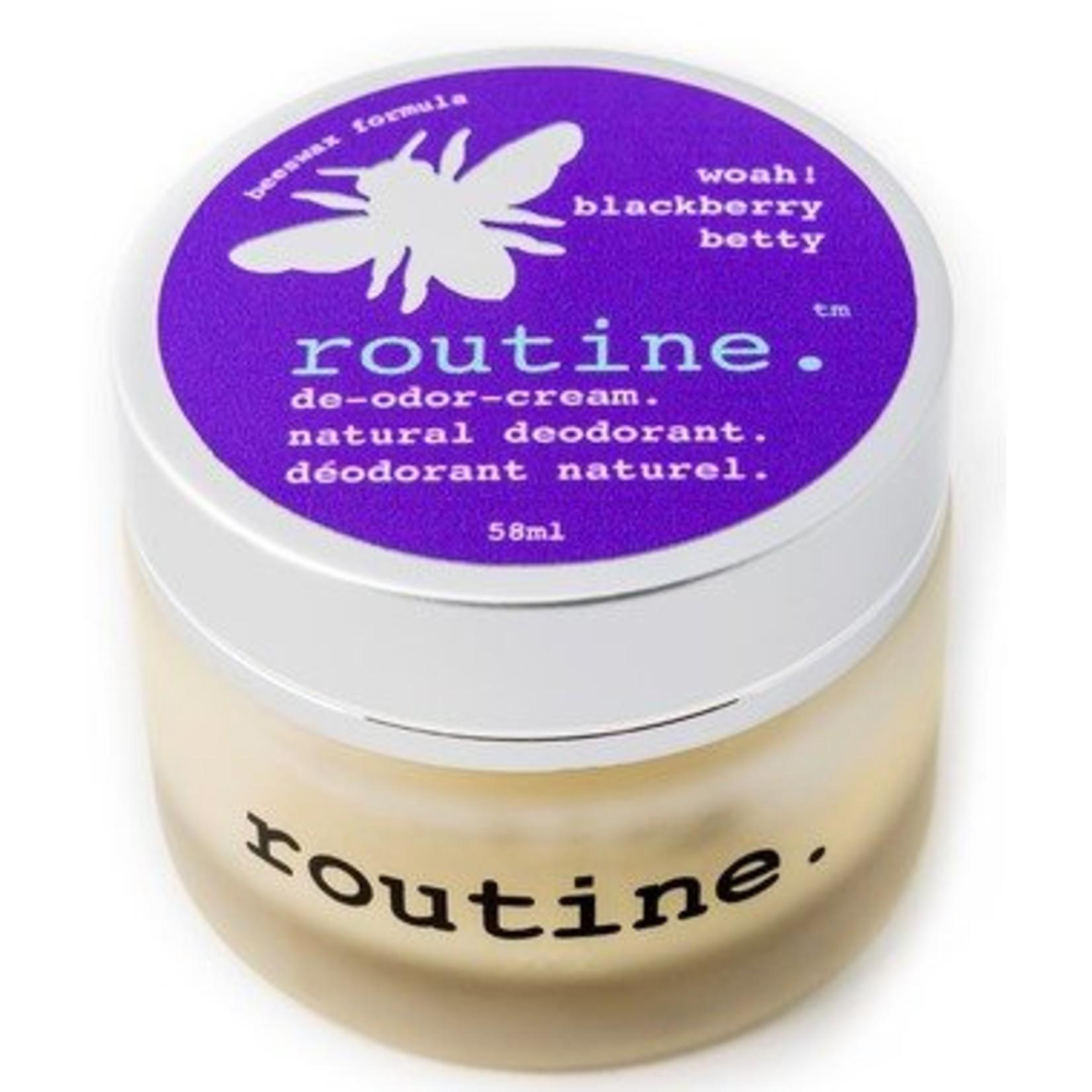 Routine Natural Deodorant Blackberry Betty