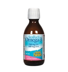 Natural Factors Natural Factors SeaRich Omega-3 750/500 200ml Lemon Meringue