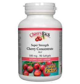 Natural Factors Natural Factors CherryRich  500mg 90 softgels