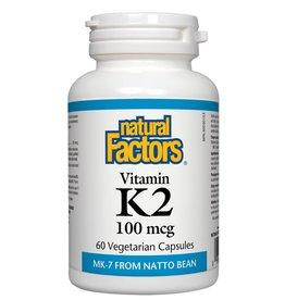 Natural Factors Natural Factors K2 100mcg 60 caps