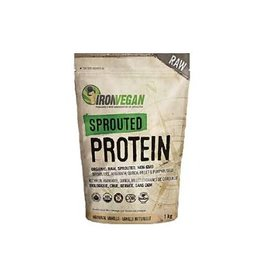 Iron Vegan Iron Vegan Sprouted Protein Vanilla 1kg