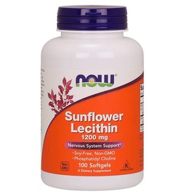 NOW Sunflower Lecithin 100 softgels
