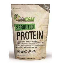 Iron Vegan Iron Vegan Sprouted Protein Vanilla 500g