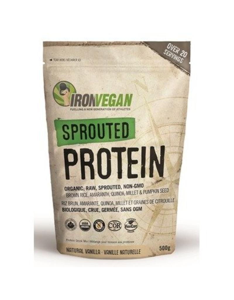 Iron Vegan Iron Vegan Sprouted Protein Vanilla 500g