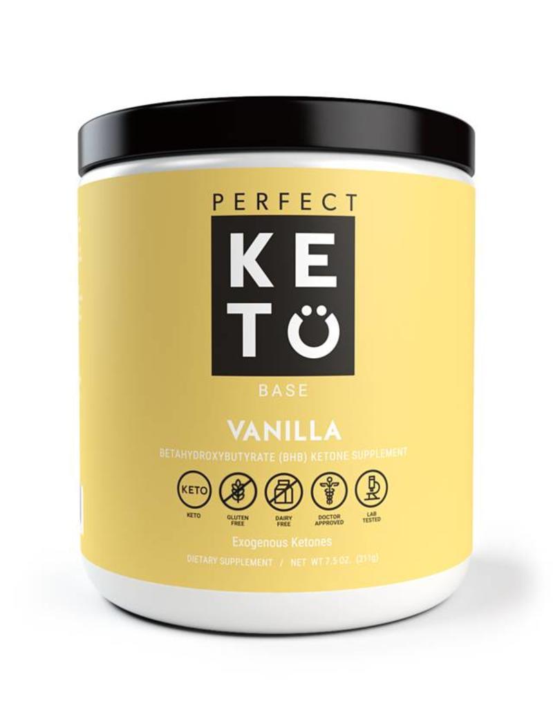 Perfect Keto Exogenous Ketones Vanilla 233g