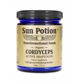 Sun Potion Cordyceps Full Spectrum Mushroom Powder 100g