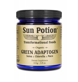 Sun Potion Green Adaptogen- Suma Chlorella Maca 111g