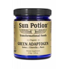 Sun Potion Green Adaptogen- Suma Chlorella Maca 111g