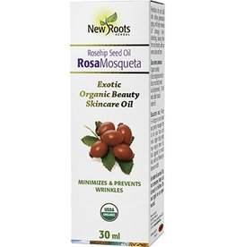 New Roots New Roots Rose Hip Seed Oil Organic 30ml
