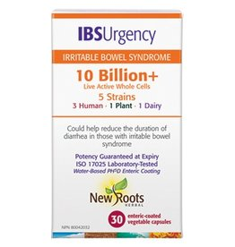 New Roots New Roots IBS Urgency Probiotic 10 Billion 30 caps