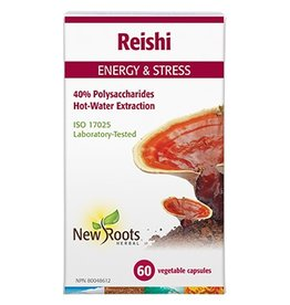 New Roots New Roots Reishi Hot Water Extraction 500mg 60 caps